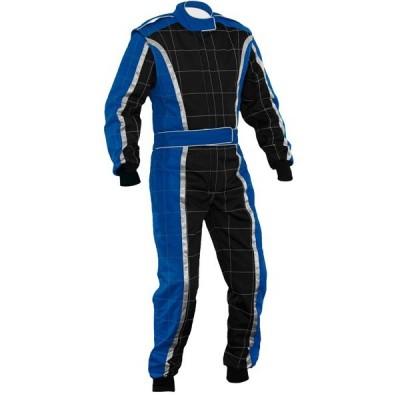 Kart Suit Blue & Black XI 014 004