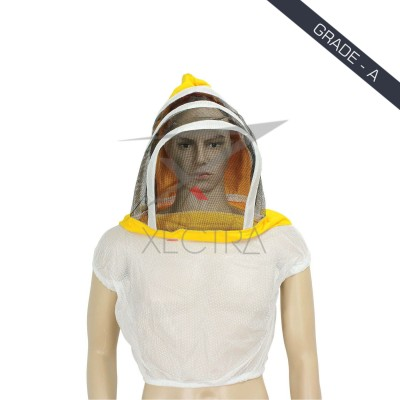 Beekeeping Fencing Veil Double Sided White XI 400