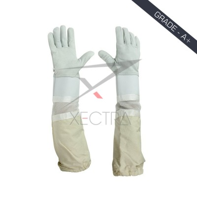 Beekeeping Ventilated Glove White XI 703