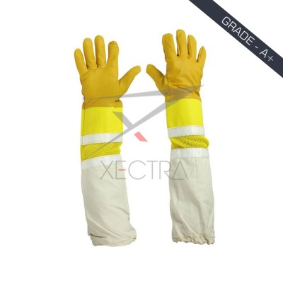 Beekeeping Ventilated Glove Yellow XI 705