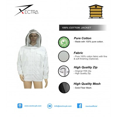 Beekeeping  Jacket With Fencing Veil XI 300