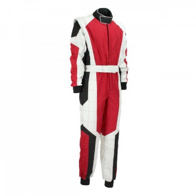 Kart Suit Red & White Combo XI 014 001