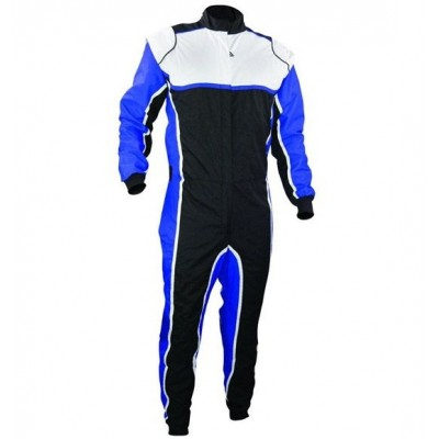 Kart Suit Blue & White Combo XI 014 006